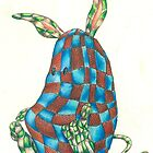 Tartan Bunny by Michael Morris