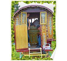 Gypsy Caravan Poster