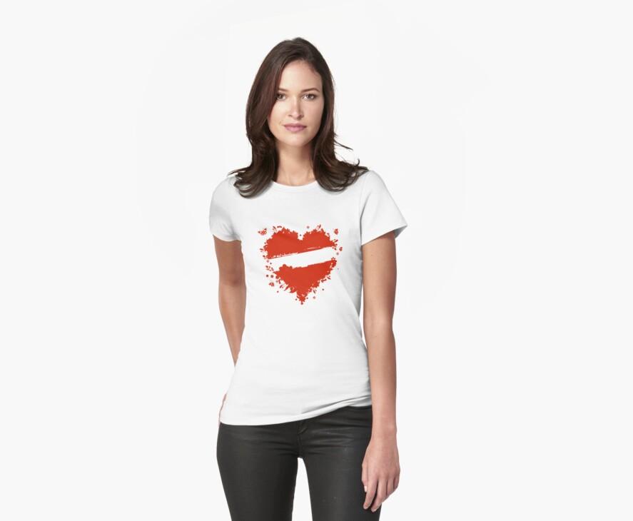 Floral heart shape by Kudryashka