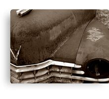 Sleeping Cadillac Canvas Print