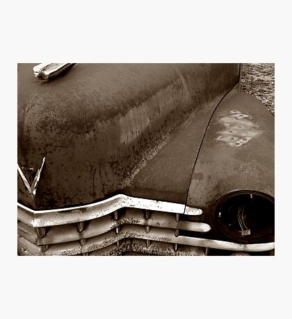 Sleeping Cadillac Photographic Print