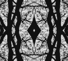 Tilia silhouette ornament A Sticker