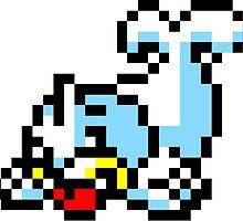 Pokemon 8-Bit Pixel Seel 086 by slr06002