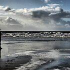 Walking In The Sand by Milan Hartney