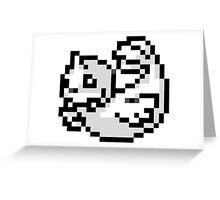 Pokemon 8-Bit Pixel Dewgong 087 Greeting Card