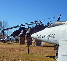 Helos and Fighter Planes by WildestArt