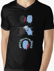 Fusion of a cat and a bug Mens V-Neck T-Shirt
