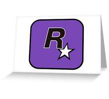 Rockstar San Diego Logo Greeting Card