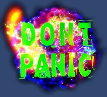 DON'T PANIC by ArtWeaver