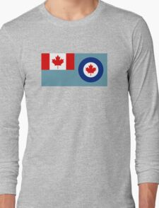 Royal Canadian Air Force - Ensign Long Sleeve T-Shirt