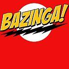Big Bang Theory Bazinga by zamora