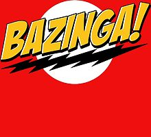 Big Bang Theory Bazinga by zamora