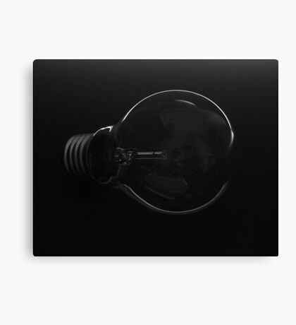 Light in the darkness Canvas Print