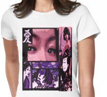 Samurai TV Love Story Womens Fitted T-Shirt