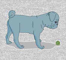 Pug and Ball Baby Tee