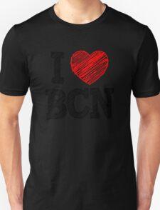 i love bcn Unisex T-Shirt