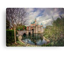 Disneyland - Sleeping Beauty Castle Metal Print