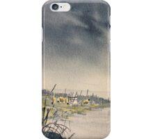 Wet Road in Westerdale iPhone Case/Skin