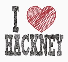 i love hackney by noonionplease