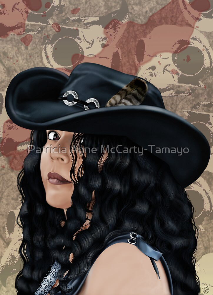That Girl in the Black Hat by Patricia Anne McCarty-Tamayo