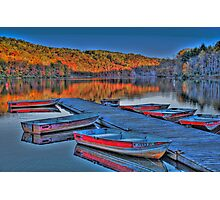 Dockside HDR Photographic Print