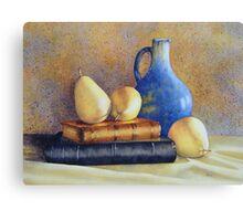 A Pear of Classics Canvas Print
