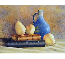 A Pear of Classics Photographic Print