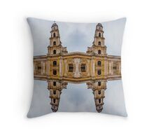 The clones of the church ruins Throw Pillow