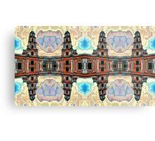 The clones of the church ruins photo art Metal Print