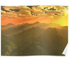 Misty mornings in Neverland Poster