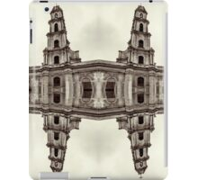 The clones of the church ruins sepia iPad Case/Skin