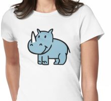Blue rhino Womens Fitted T-Shirt