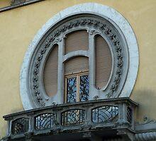 Art nouveau window by presbi