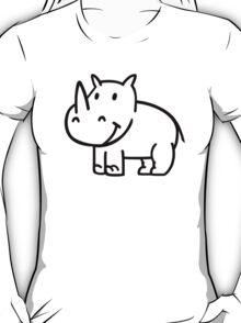 Comic rhino T-Shirt