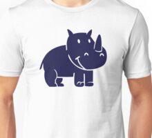 Comic rhinoceros Unisex T-Shirt