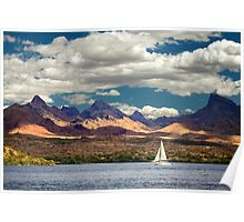 Sailing In Havasu Poster