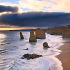 &quot;The Twelve Apostles&quot; Sunset, Great Ocean Rd, Australia by Michael Boniwell