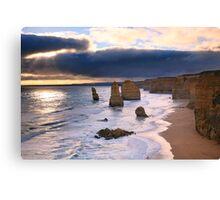"""The Twelve Apostles"" Sunset, Great Ocean Rd, Australia Canvas Print"