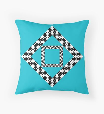Straight Or Not? Throw Pillow
