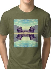 Jews in black can fly Vintage Tri-blend T-Shirt