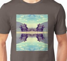 Jews in black can fly Vintage Unisex T-Shirt