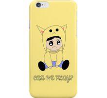 Kawaii Character iPhone Case/Skin
