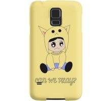 Kawaii Character Samsung Galaxy Case/Skin