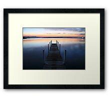 Fisherman's Paradise - Mallacoota before dawn, Australia Framed Print