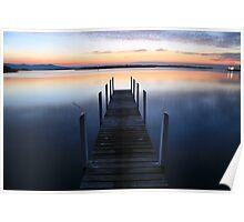 Fisherman's Paradise - Mallacoota before dawn, Australia Poster