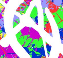 anarchy colourbomb Sticker
