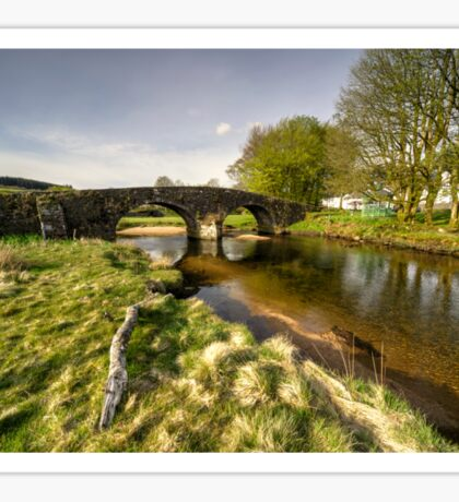 Dartmoor Bridge  Sticker