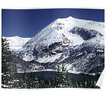Snowy Colorado Mountain  Poster