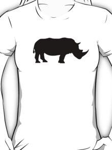 Black rhinoceros T-Shirt