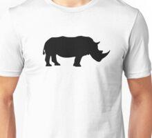 Black rhinoceros Unisex T-Shirt